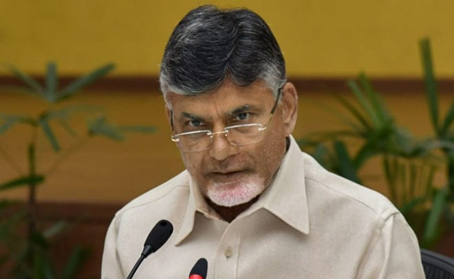 Is Modi not ashamed to visit AP with empty hands, asks Chandrababu Naidu