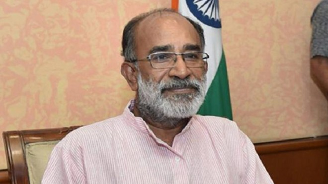 KJ Alphons draws criticism over his selfie at CRPF Jawans Funeral