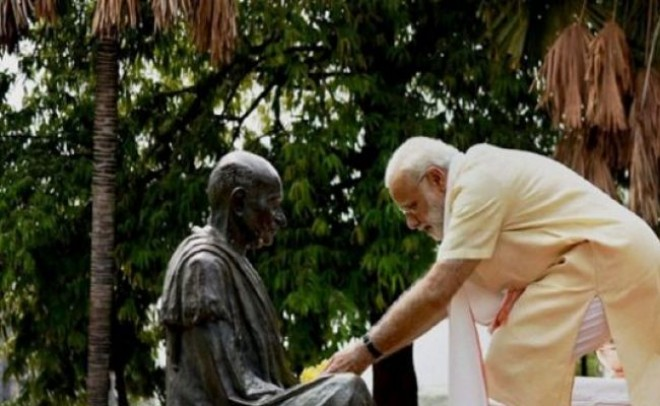 Congress culture is anti-thesis of Gandhian thought: PM Modi