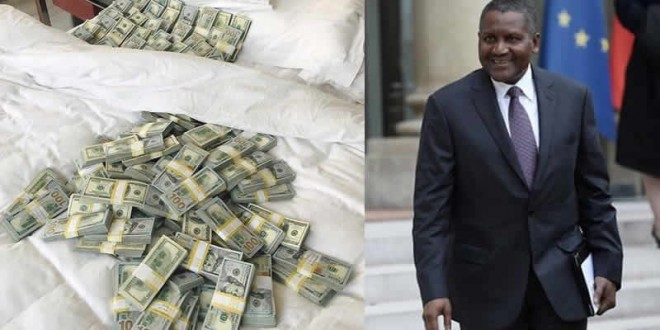 Africas Richest man withdrew USD 10 million just to do this