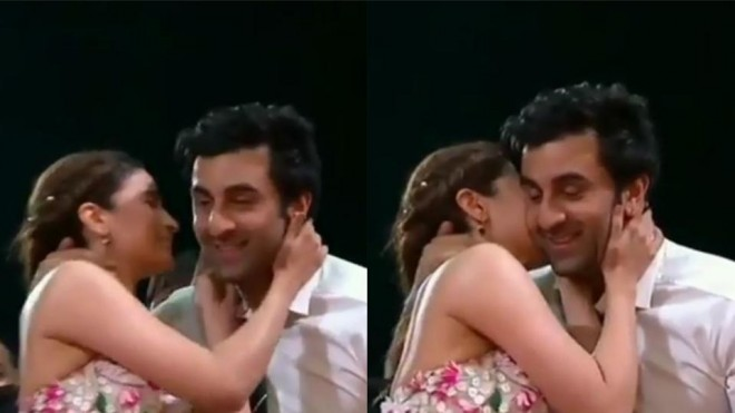 Ranbir-Alia kissing goes viral on social media