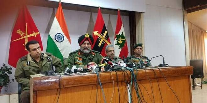 Army warns Kashmiris