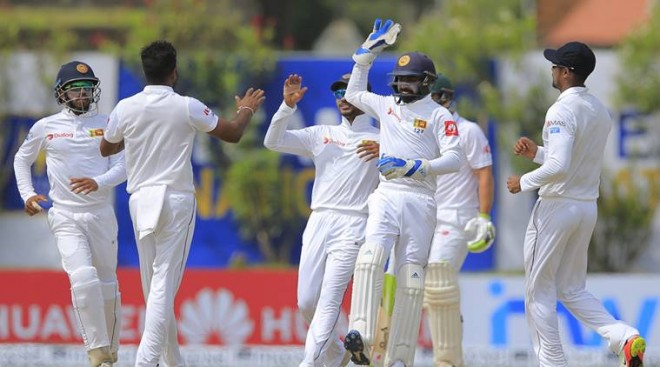 Sri Lanka ahead after first day