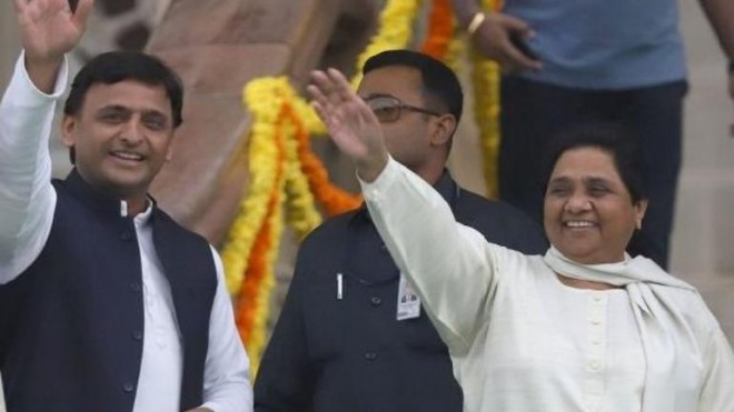 BSP to Contest on 38 and SP on 37 seats in UP