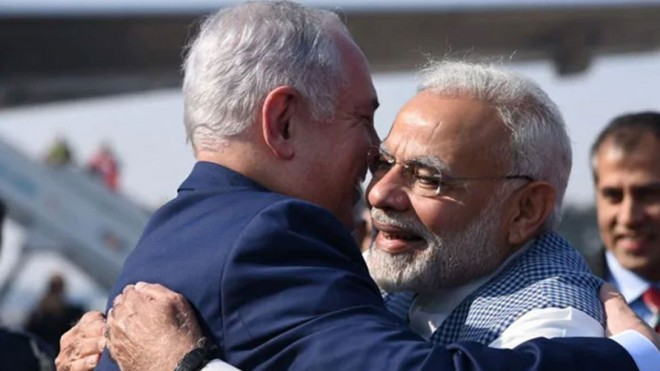 Israel wishes PM Modi on Friendship Day