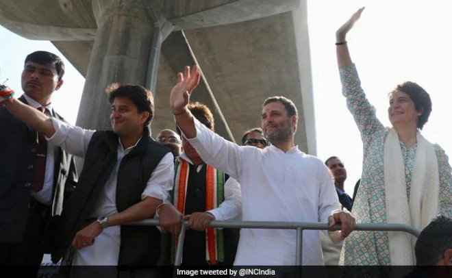 Congress strengthens team , Jyotiraditya, appoints 6 AICC secretaries