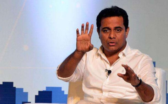 KTR reacted sharply to Pawan Kalyan's stmt