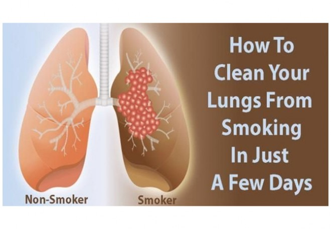 HOW TO CLEAN THE LUNGS IN 3 DAYS.