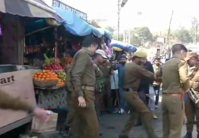 Jammu & Kashmir: Blast at bus stand, injured rushed to hospital